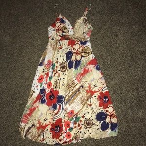 Vintage 70s Hawaiian dress